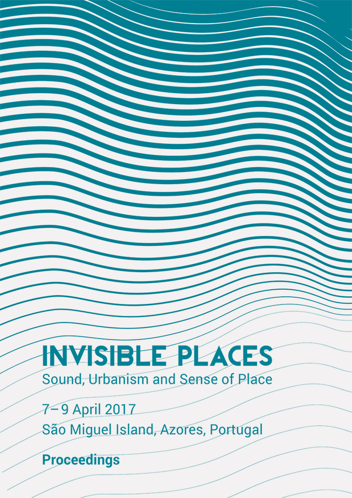 Cover of the Proceedings of Invisible Places 2017